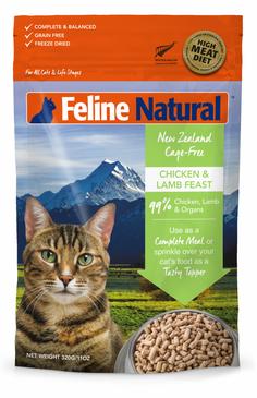 Feline Naturals Chicken & Lamb Feast