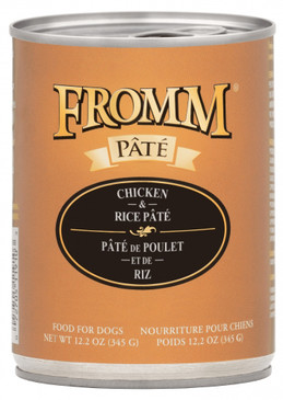 Fromm Chicken & Rice Pate