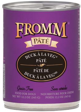 Fromm Duck A La Veg Pate