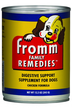 Fromm Family Remedies Chicken Recipe Canned Digestive Support Supplement for Dogs