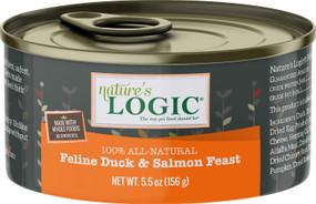 Nature's Logic Feline Duck and Salmon 5.0oz