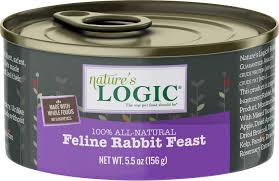Nature's Logic Feline Rabbit 5.0oz