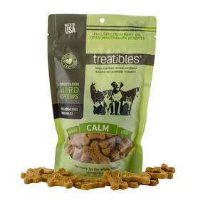 Treatibles Turkey Flavor Hemp Chews
