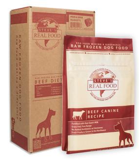 Steve's Beef Canine Raw Formula