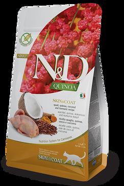 Farmina N&D Skin & Coat Quail & Quinoa Formula