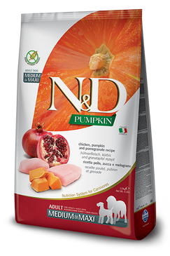 Farmina N&D Chicken/Pumpkin/Pomegranate Formula
