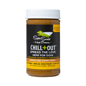 Super Snouts - CHILL+OUT CBD PEANUT BUTTER (FOR FLAVOR)