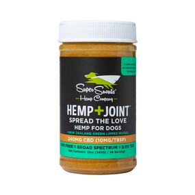 Super Snouts - HEMP+JOINT CBD PEANUT BUTTER (FOR FLAVOR)