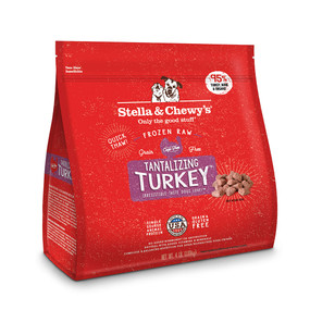 Stella & Chewy's Tantalizing Turkey Canine Frozen Dinner Morsels 4#