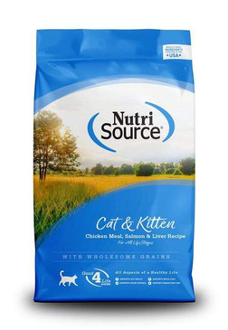 Nutrisource Chicken & Salmon Cat Formula