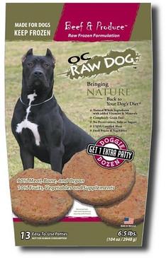 OC Raw Beef & Produce Sliders/Patties