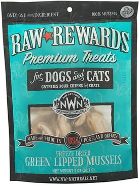 Northwest Naturals Raw Rewards Freeze-Dried Green Lipped Mussels
