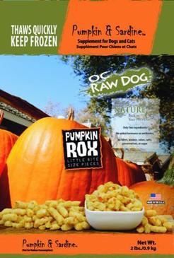 OC Raw Pumpkin & Sardine Rox