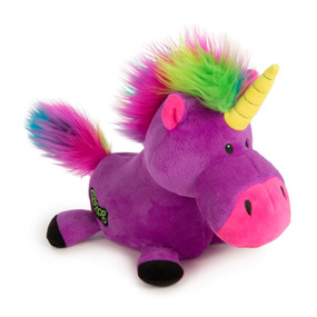 Quaker Pet GoDog Unicorn Purple