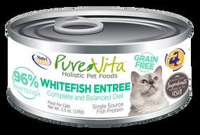 PureVita Whitefish Entree Cat