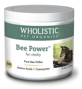 Wholistic Pet Organics Bee Powder