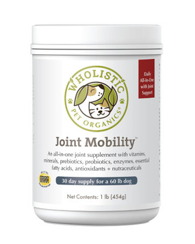 Wholistic Pet Organics Joint Mobility