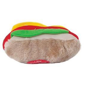Aspen Pet Hot Dog Plush Toy