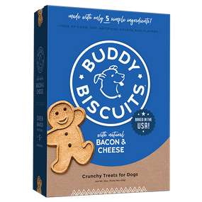 Buddy Biscuits Bacon & Cheese Treats 16oz