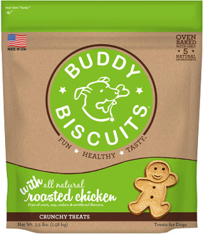 Buddy Biscuits Crunchy Roasted Chicken Flavor 3lb