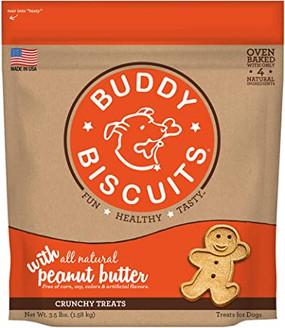 Buddy Biscuits Crunchy Peanut Butter Flavor 3lb