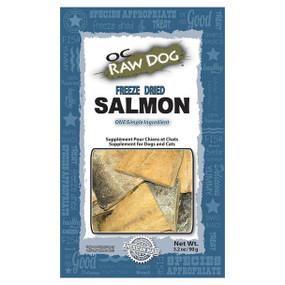 OC Raw Freeze Dried Salmon Treat 3oz