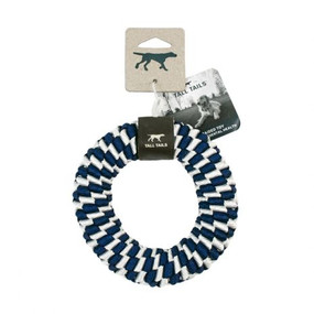 """Tall Tails Braided Ring 6""""  Toy Navy Blue"""