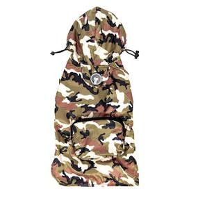 Fab Dog Packaway Raincoat Camo