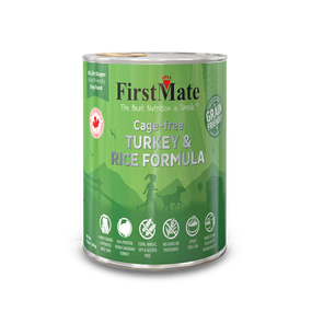 FirstMate Turkey & Rice Grain Friendly 12oz
