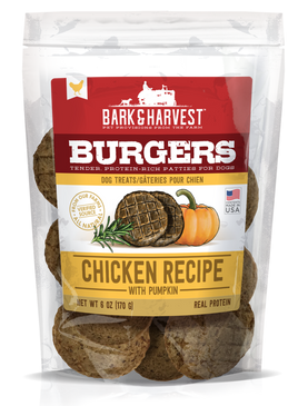 Superior Farms Chicken with Pumpkin Burgers