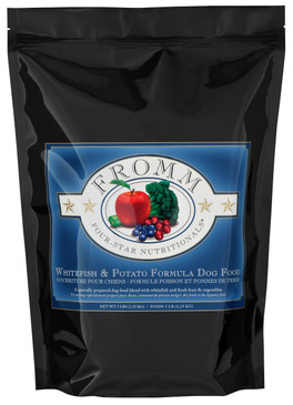 Fromm Four-Star Whitefish & Potato Dog Recipe