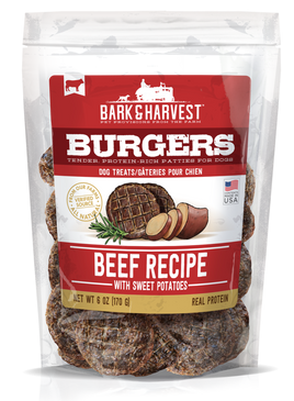 Superior Farms Beef with Sweet Potatoes Burgers