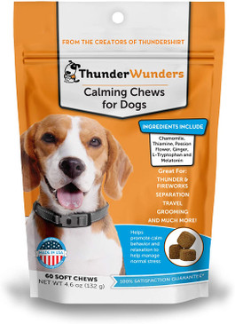 ThunderWorks Calming Chews with Melatonin 60ct