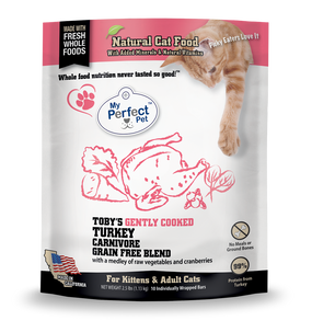 My Perfect Pet Toby's Turkey Carnivore Cat Blend