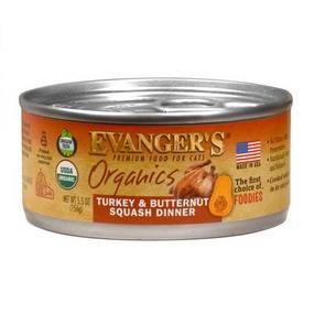 Evanger's Organics Turkey & Butternut Squash Dinner