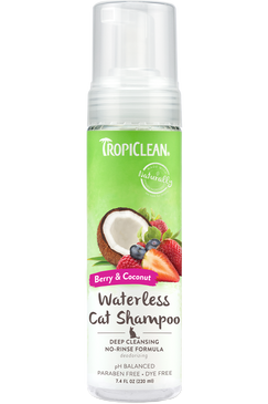Tropiclean Deep Cleaning Waterless Shampoo for Cats