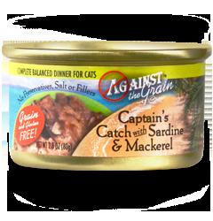 Against the Grain Captain's Catch with Sardine & Mackerel