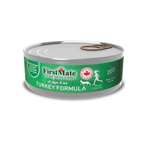 FirstMate Cage-Free Turkey Limited Ingredient Cat Formula 3.5oz