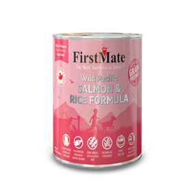 FirstMate Salmon & Rice Grain Friendly 12oz