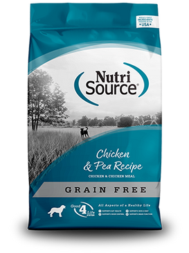NutriSource Grain Free Chicken & Pea Formula