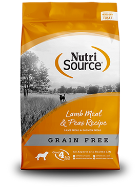 NutriSource Grain Free Lamb & Pea Formula
