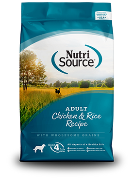 NutriSource Adult Chicken & Rice Formula