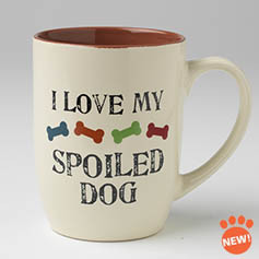 Petrageous I Love My Spoiled Dog Mug 24 oz.