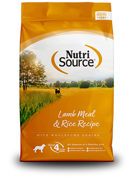 NutriSource Lamb Meal & Rice Formula