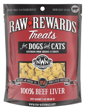 Northwest Naturals Raw Rewards Freeze-Dried Beef Liver Treats
