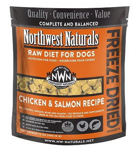 Northwest Naturals Freeze Dried Dog Food Chicken & Salmon Recipe 12 oz