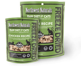 Northwest Naturals Chicken Recipe Freeze Dried Cat Food
