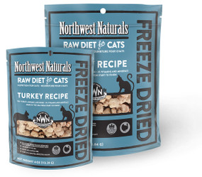 Northwest Naturals Turkey Recipe Freeze Dried Cat Food