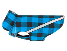 RC Pet West Coast Rainwear Blue Buffalo Plaid
