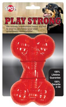 """Spot Play Strong Rubber Bone 6.5"""""""